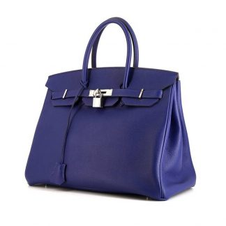 a1cb695dc4 You re viewing  Best Replica Hermes Birkin 35 cm handbag in electric blue epsom  leather £15